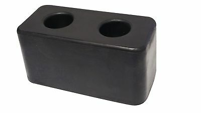 "Rubber Molded Dock Bumper for Truck, Trailer & Loading Bays 3""X3""X6"" New"