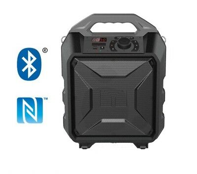 Monster Rockin Rambler Portable Wireless 30W Speaker, NIB SHIP FROM STORE