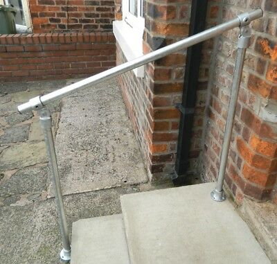 Tube Handrail Mobility Outdoor Garden Safety Rail Stairs Steps Door