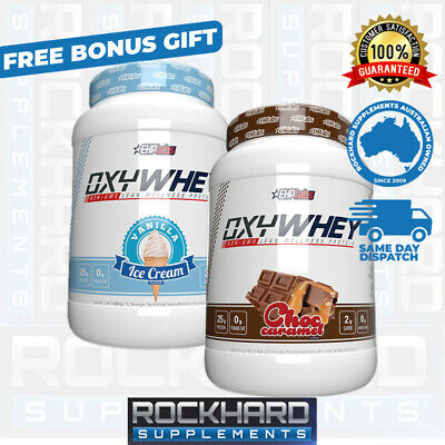 Twin Pack EHPLabs OxyWhey Lean Protein Powder Ehp Labs Oxy Whey Stack