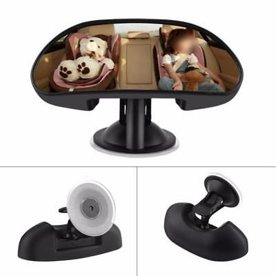 Adjustable Car Baby Child Back Seat Rear View Safety Mirror With Suction Cup