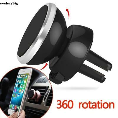 360 Degree Magnetic Air Vent Mount Car Phone Holder For Mobile Phone GPS EE6