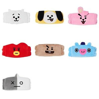 BTS BT21 Official Face Wash Cleansing Band Authentic Olive Young (tracking)