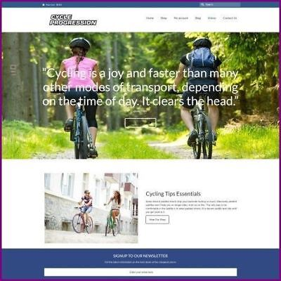 CYCLING - Dropship Website Business For Sale | Commission On Each Sale
