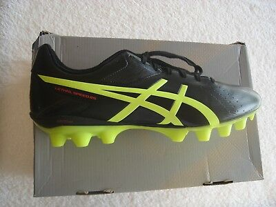 "Asics Lethal Speed RS ""Brand New"" Football Boots US12 Cm29.5 Eu46.5 Soccer Rugby"