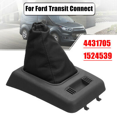 Shift Knob Gear Gaiter Boot Dust Cover Replace For Ford Transit Connect 1524539