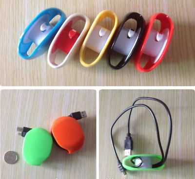 Portable Cable Bobbin Cord Organiser Reel Storage Winder for Earphones