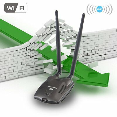 3000mW High Power N9100 Wireless USB Wifi Adapter For Ralink 3070 Chipset  ES