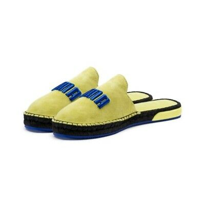 Puma fenty espadrille women s Color Sulphuric spring blue black New with box b8d3f352f