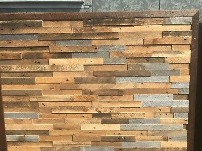 """Reclaimed Vintage Old Growth White Pine 2"""" Wide Paneling ( 20 square feet)"""