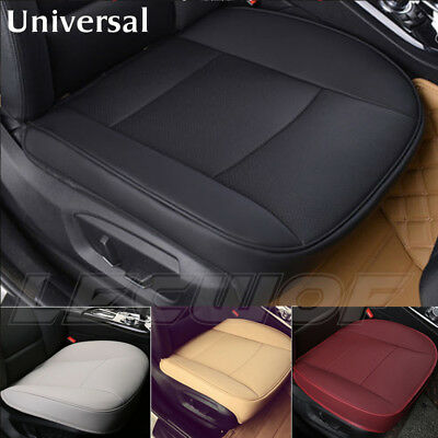 Universal Deluxe Car Cover Seat Protector Cushion PU Leather Soft Front Cover