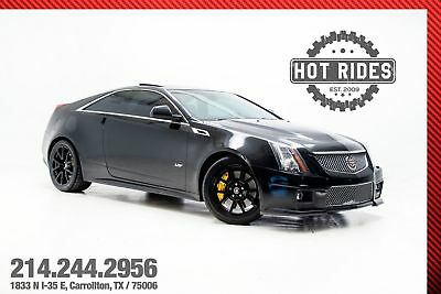 Cadillac CTS-V Coupe CTSV Coupe 2012 Cadillac CTS-V Coupe 6.2L Supercharged V8! MUST SEE!