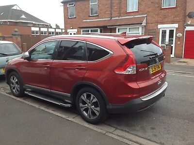 Mirage Running Boards Honda CR-V 2012 Onwards