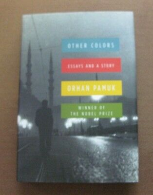 SIGNED - OTHER COLORS by Orhan Pamuk - 1st/1st HCDJ  2007- Nobel Prize