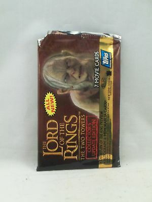 Topps The Lord of the Ring The Two Towers Collectors Update Edition 7 Cards