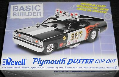 Revell Plymouth Duster Cop Out 1:24