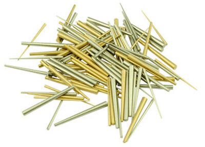 New German 50 Piece Brass or Steel Clock Tapered Pins - 10 Choices!
