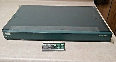 Cisco 2600 Series 2612 4-Port 10/100 Wired Router CISCO2612 TESTED FREE SHIPPING