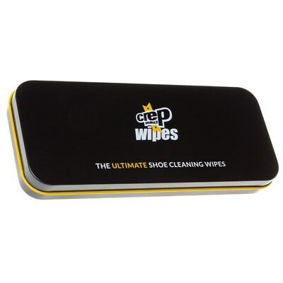 New MENS CREP PROTECT NATURAL WIPES SOLUTION