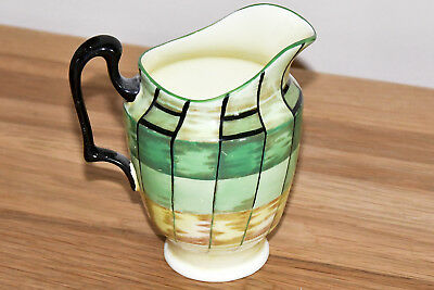 Crown Staffordshire Art Deco Milk Jar In Very Good Condition
