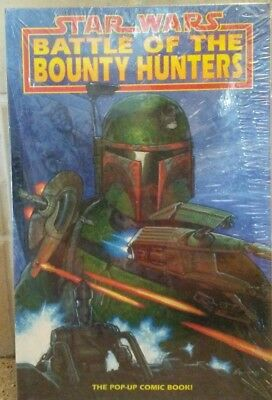 1996 Star Wars Battle of the Bounty Hunters Pop-Up Comic Book Sealed  First Ed