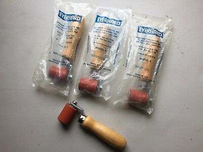 Lot Of 3 - MR05020 Everhard Silicone Rubber Roller, New, Free Ship