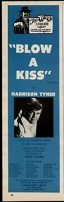 "1972 Harrison Tyner ""blow A Kiss"" Ad"