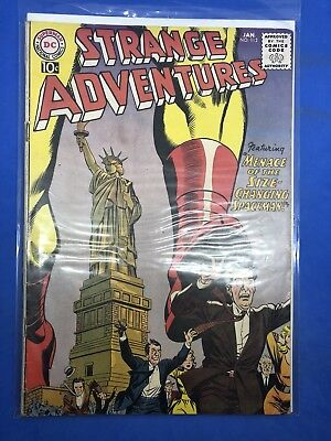 Strange Adventures 1st Series  No. 112 January 1960 DC Cover $0.10 Infantino