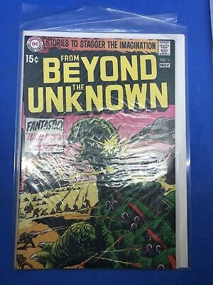 From Beyond the Unkown No. 1 November 1969 DC Turtle- Men of Space