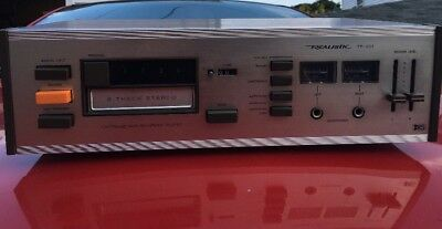 Vintage Realistic TR-801 8 Track Stereo Cartridge Tape Recorder & Player Tested