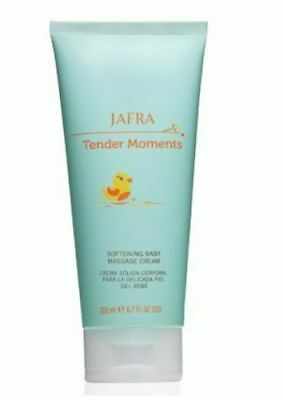 Jafra Tender Moments Softening Baby Massage Cream 6.7 FL.OZ.
