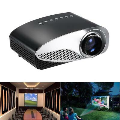 For Home Cinema Theater Portable Mini LED Projector Full HD 1080P HD AV USB VGA