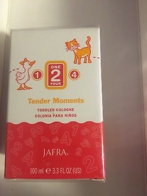JAFRA TENDER MOMENTS 1- 2- 4 TODDLER COLOGNE- New and Sealed