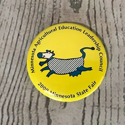Minnesota State Fair Agricultural Education Leadership Council Pinback Button