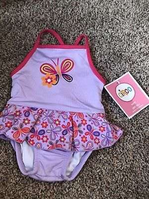 a1b9a9965c6c9 BABY GIRL 6 Month Butterfly Swim Suit - $2.00 | PicClick