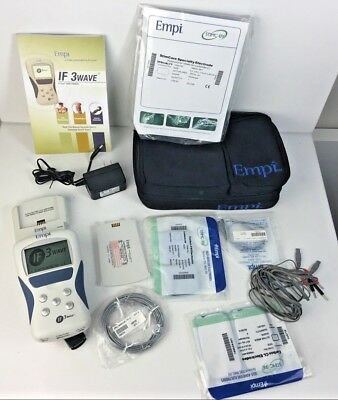 New? EMPI IF3 Wave - TENS Unit / Battery Charger, Etc Massager / Pain Management