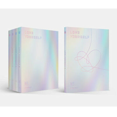 BTS Love yourself 結 'Answer'4th Album Random CD+P.Book+Card+Free Gift