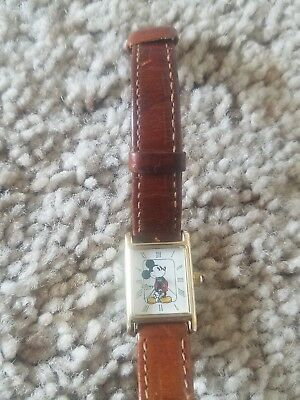 Disney Time Works Rectangle Mickey Mouse Watch needs new band