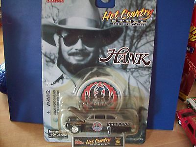 Hank Williams Jr. Issue #18 Hot Country Limited Edition Die Cast Car Bocephus