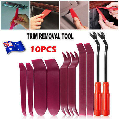 10pcs Car Auto Body Door Panel Removal Console Dashboard Trim Plastic Tools Kit