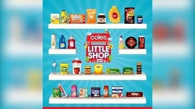 Coles Little Shop Collectables FREE POSTAGE