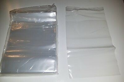 Crystal Clear Resealable Recloseable SELF sealable Lip & Tape poly PLASTIC bags
