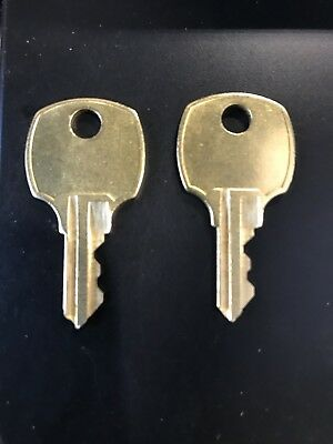(2) Lane Cedar Chest Keys Pre 1987 FREE SHIPPING !!!