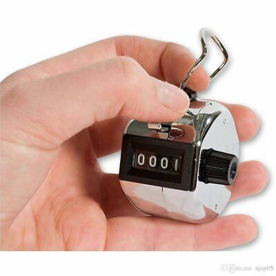 Hand Tally Counter 1-9,999 Great for Sports, Businesses & Clubs