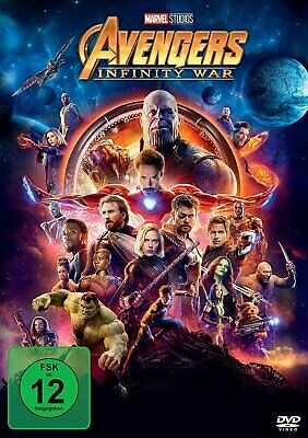 Avengers: Infinity War - (Chris Hemsworth) # DVD-NEU