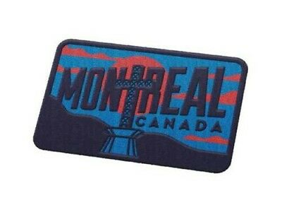 Montreal Quebec Canada Iron On Travel Patch sddghd sfjf