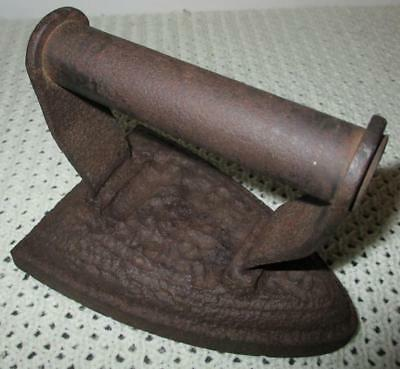 Antique 1800's Cast Iron Flat Iron No 6 Ideal Door Stop or Shop Display