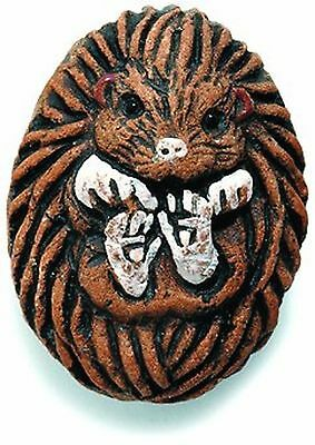 Shipwreck Beads 20 by 27mm Peruvian Hand Crafted Ceramic Hedgehog Beads, ... New