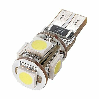 10pcs Free Error Canbus T10 194 168 W5W 501 5050 5 LED SMD Blanc Side Light K4D8