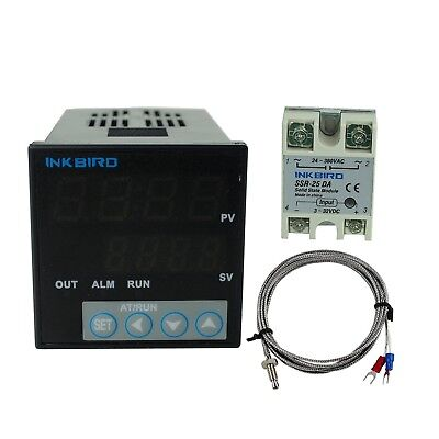 Inkbird °F and °C Display PID Stable Temperature Controller ITC106VH with... New